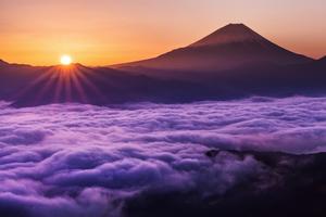 雲海と夜明け富士.jpg